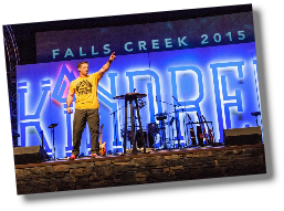 Andy Taylor at Falls Creek